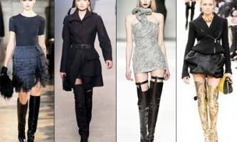 Модне жіноче взуття осінь 2010: основні тенденції, ботфорти, черевики і класична взуття сезону осінь 2010