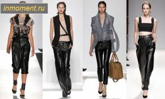 Модні брюки літо 2013