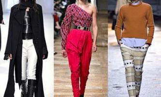 Модні брюки зима 2014/2015