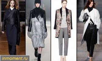 Модні пальто восени 2013