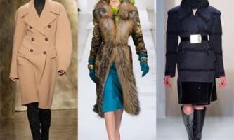 Модні пальто зима 2014/2015
