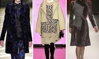 Модні пальто зими 2013/2014