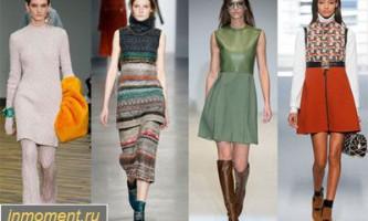 Модні сукні осінь 2014