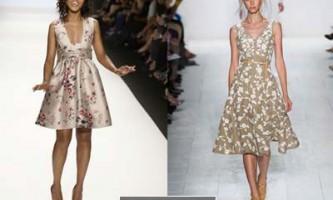 Модні сукні весна 2014