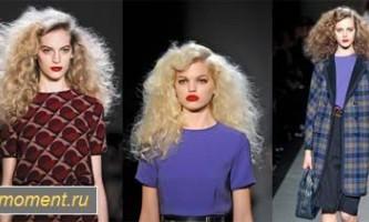 Модні зачіски восени 2013