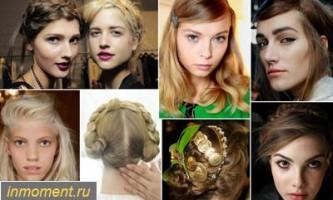 Модні зачіски весна 2014