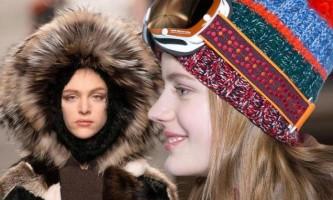 Модні шапки, капелюхи, берети і кепки восени 2014 і взимку 2015
