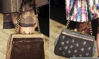 Модні сумки осінь-зима 2010/2011: основні тенденції, торби, клатчі, рюкзаки та ридикюлі. Модні кольори сумок сезону