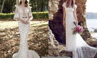 Модні весільні сукні літо 2016