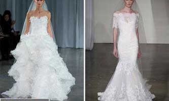 Модні весільні сукні восени 2013