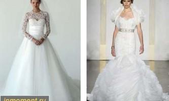 Модні весільні сукні зима 2012/2013