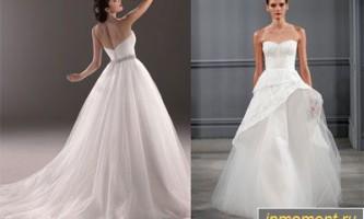 Модні весільні сукні зима 2014/2015