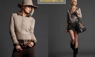 Модні в`язані речі осінь-зима 2011/2012