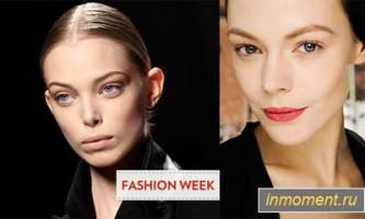 Модний макіяж осінь 2012
