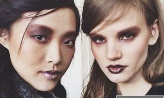 Модний макіяж осінь 2014