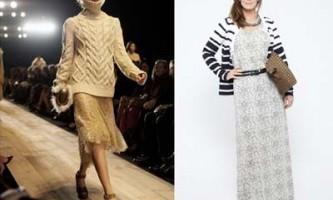 Модний трикотаж осінь 2012