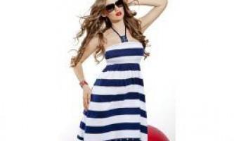 """Морський стиль в одязі - «морське настрій"""" у твоєму гардеробі"""
