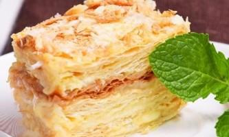 Наполеон - готуємо шикарний і смачний торт