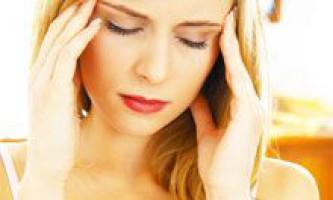 Народні засоби від головного болю. Лікування головного болю