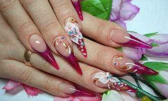 Нові та класичні малюнки на нігтях (39 фото)