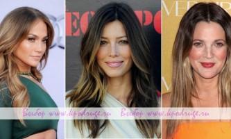 Фарбування волосся омбре: ефект вигорілих на сонці локонів