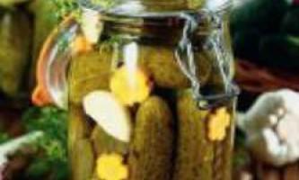 Основні правила домашнього консервування огірків