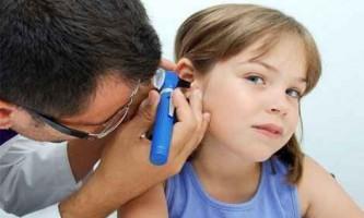 Отит у дітей симптоми