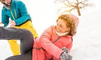 Схуднення взимку. Санки, лижі, ковзани і біг для схуднення взимку
