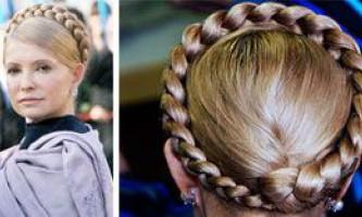 Зачіска з косою - як символ жіночності. Коса - модні зачіски знаменитостей