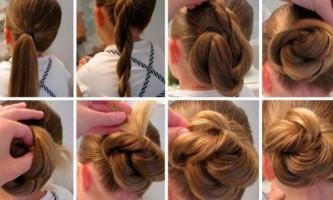 Прості зачіски для школи
