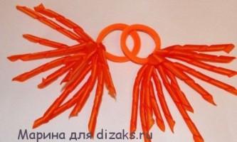 Гумки спіральки для волосся з атласних стрічок