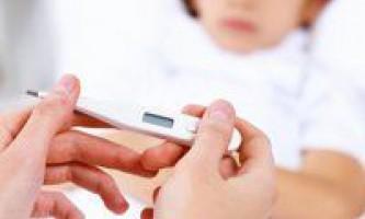 Блювота і висока температура у дитини, причини і лікування