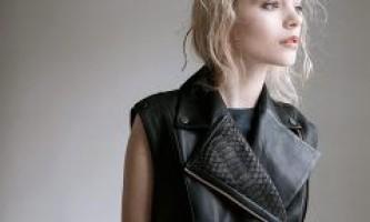 З чим носити шкіряне жилетку - ультра-модну річ в гардеробі!