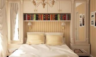 Шикарний дизайн інтер`єру маленької спальні (8 фото)