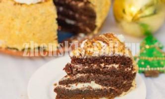 Шоколад на окропі. Домашній шоколадний торт в мультиварці