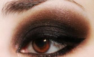 Смокі айс - макіяж для карих очей