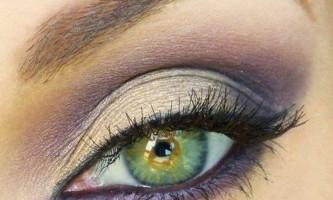 Смокі айс - техніка для зелених очей