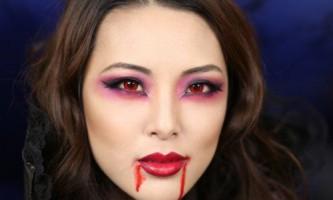 Створення макіяжу вампіра на хеллоуїн