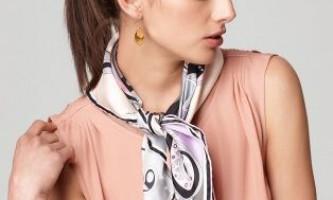 Способи зав`язування хусток на шиї: зробіть образ неповторним