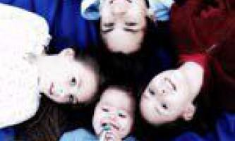 Старші діти впливають на розвиток молодших
