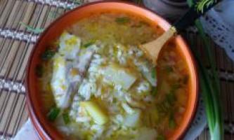 Суп курячий з рисом в мультиварці
