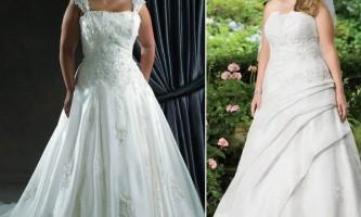 Весільна мода для повних наречених: фото суконь