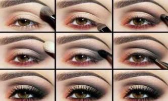 Техніка нанесення макіяжу очей покроково