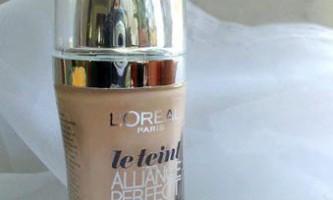 Тональний крем лорель (l`oreal alliance perfect): відгуки використання
