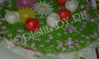 Торт «літня фантазія»