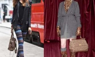 Трикотажна мода осінь-зима 2010/2011: легінси, кардигани, шорти, пуловери, сукні, накидки і спідниці