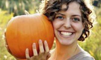 Гарбуз для схуднення, користь і дієтичне меню на її основі