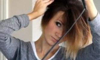 Укладання короткого волосся феном, праскою, щипцями і відео процесу
