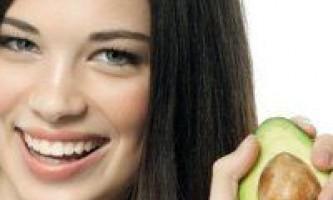 Зволожуюча маска для сухого волосся, рецепт складу з авокадо