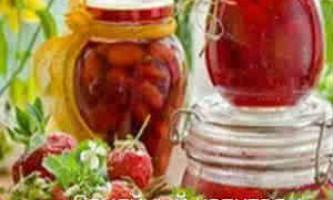 Заготовки на зиму: полуниця натуральна